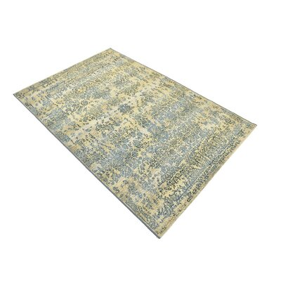 Ile Beige Indoor/Outdoor Area Rug Rug Size: Rectangle 4 x 6