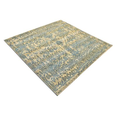 Ile Beige Indoor/Outdoor Area Rug Rug Size: Square 6