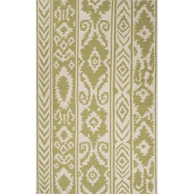 Terrence Green/Ivory Rug Rug Size: 5 x 8