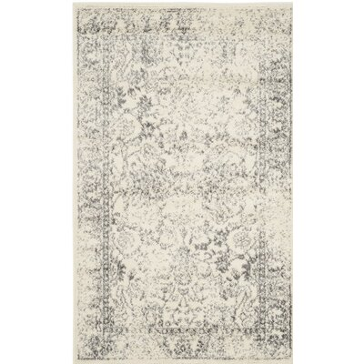 Norwell Gray/Beige Area Rug Rug Size: Rectangle 10 x 14