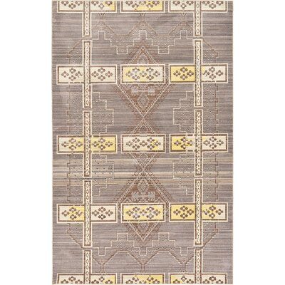 Bradford Brown Area Rug Rug Size: Rectangle 5 x 8