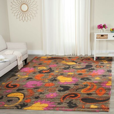 Veropeso Hand Woven Area Rug Rug Size: Rectangle 4 x 6
