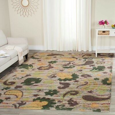 Veropeso Hand-Woven Area Rug Rug Size: Rectangle 5 x 8