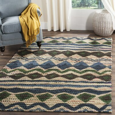Veropeso Hand-Woven Area Rug Rug Size: Rectangle 4 x 6