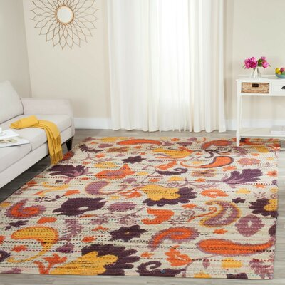 Veropeso Hand-Woven Area Rug Rug Size: 8 x 10