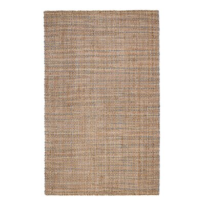 Ibnou Hand-Made Cream Area Rug Rug Size: 9 x 12