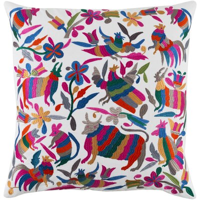 Safiya Cotton Throw Pillow Size: 18 H x 18 W x 4 D