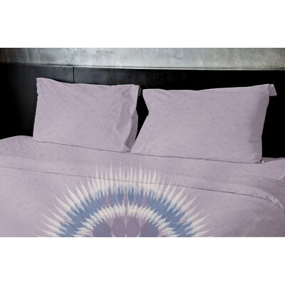 Kash Duvet Set Size: Queen, Color: Purple