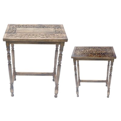 Zierikzee 2 Piece Console Table Set