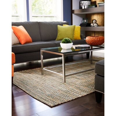Kenny Brown Area Rug Rug Size: 4 x 6