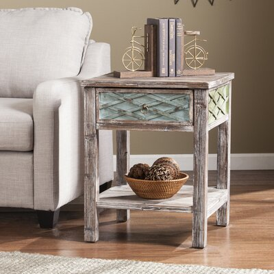 Ethel 1 Drawer End Table
