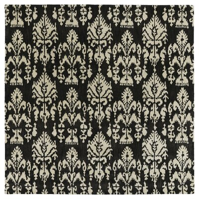 Gilles (Boulouparis ) Charcoal Area Rug Rug Size: Rectangle 76 x 9