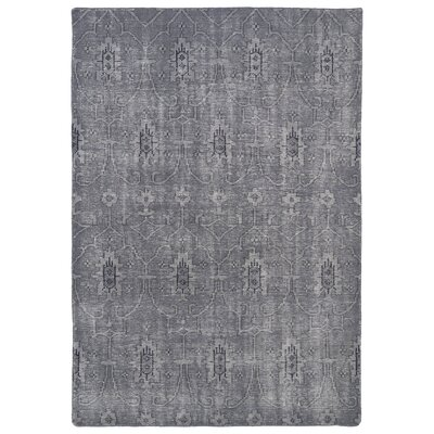 Tonya Grey Area Rug Rug Size: Rectangle 56 x 86