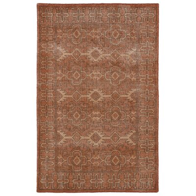 Tonya Paprika Area Rug Rug Size: Rectangle 8 x 10