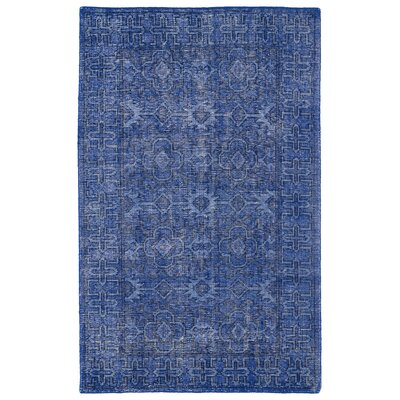 Tonya Blue Area Rug Rug Size: Rectangle 4 x 6