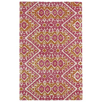Hocca Pink Area Rug Rug Size: Rectangle 36 x 56