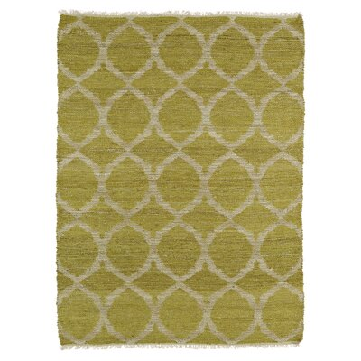 Saint-Joseph Beige/Wasabi Area Rug Rug Size: Rectangle 76 x 9