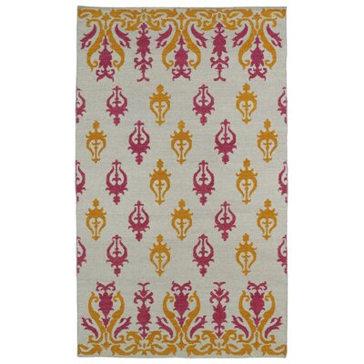 Saint-Philippo Ivory Area Rug Rug Size: Rectangle 9 x 12