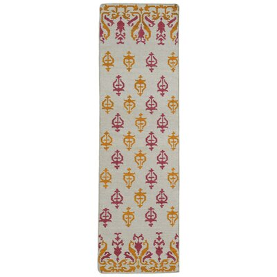 Saint-Philippo Ivory Area Rug Rug Size: Runner 2'6