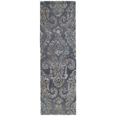 Paita Gray Area Rug Rug Size: Runner 26 x 8