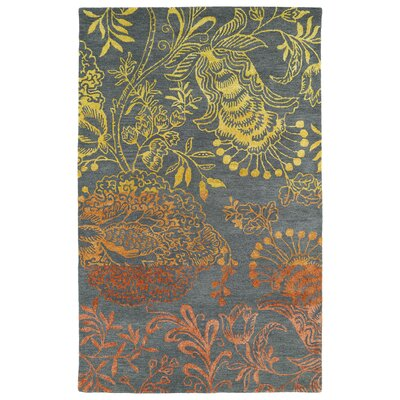Paita Gray Area Rug Rug Size: Rectangle 8 x 11