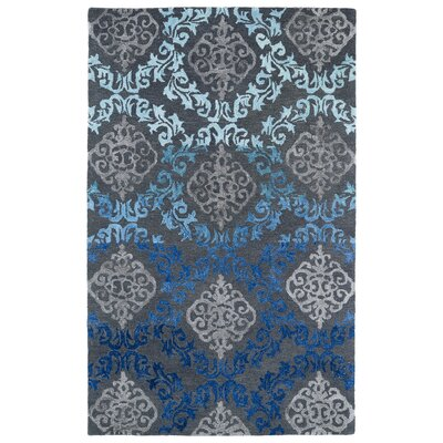 Paita Grey/Blue Area Rug Rug Size: Rectangle 96 x 13