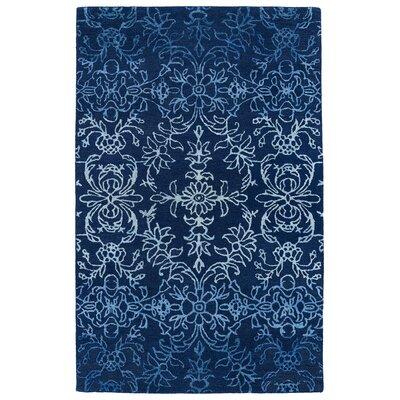 Paita Blue Area Rug Rug Size: 36 x 56