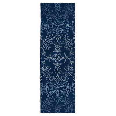 Paita Blue Area Rug Rug Size: Runner 2'6