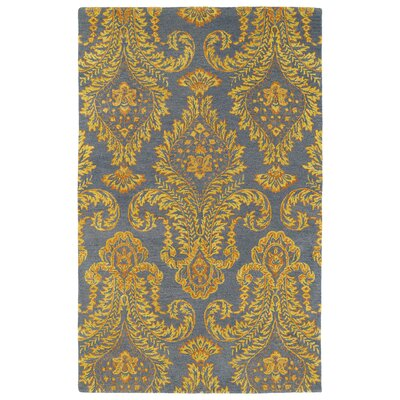 Paita Yellow/Gray Area Rug Rug Size: Rectangle 96 x 13
