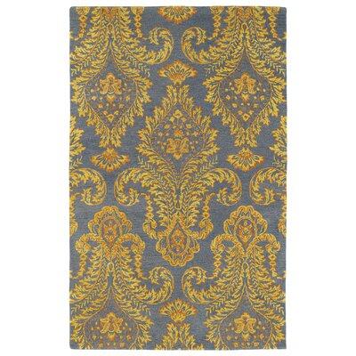 Paita Yellow/Gray Area Rug Rug Size: 2 x 3