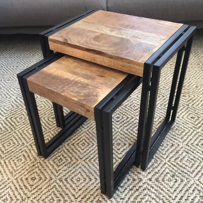 Chanler Traditional 2 Piece Nesting Tables