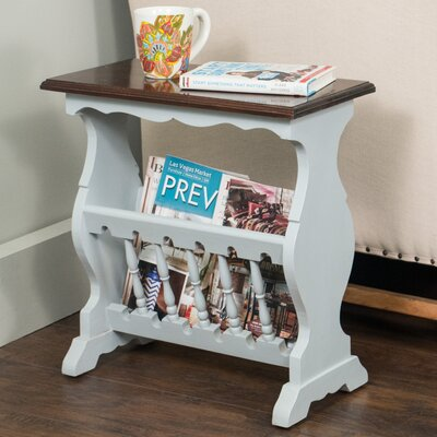 Mijares End Table Color: Grey