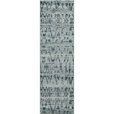 Denissa Blue Area Rug Rug Size: Rectangle 311 x 57