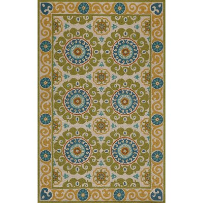 Roeser Lime Area Rug Rug Size: Rectangle 8 x 10