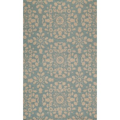 Roeser Blue Area Rug Rug Size: Rectangle 5 x 8