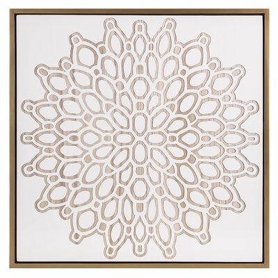 Bungalow Rose Starburst Etched Wall Decor