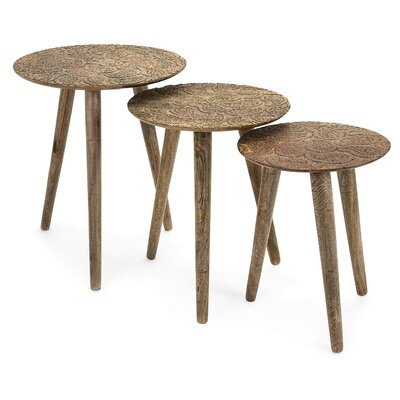 Capellen Round 3 Piece Nesting Tables
