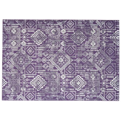 Gharass Violet Area Rug Rug Size: Rectangle 8 x 11