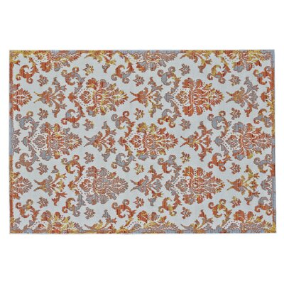 Gharass Apricot Area Rug Rug Size: Rectangle 8 x 11