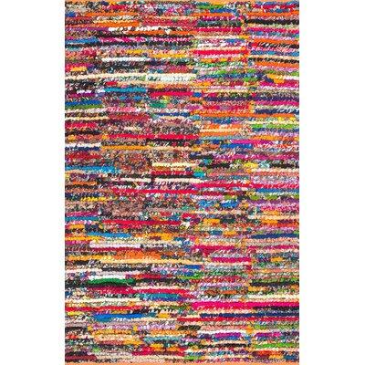 Supriya Hand- Braided Area Rug Rug Size: Rectangle 5 x 8