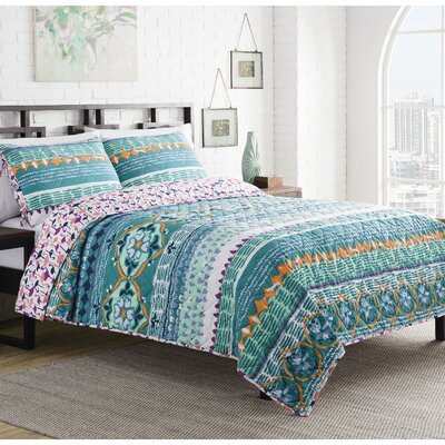Willie 3 Piece Reversible Quilt Set Size: King