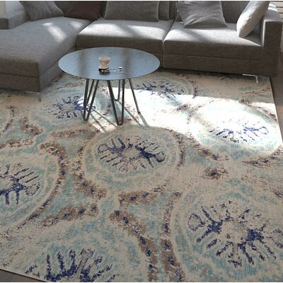 Alstrom Blue Area Rug Rug Size: 8 x 10