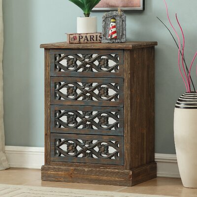 Davian 4 Drawer Standard Chest