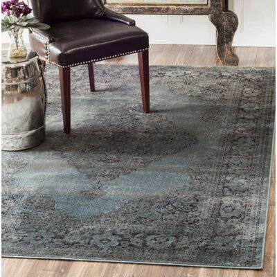 Pittwater Blue Area Rug Rug Size: Rectangle 78 x 96