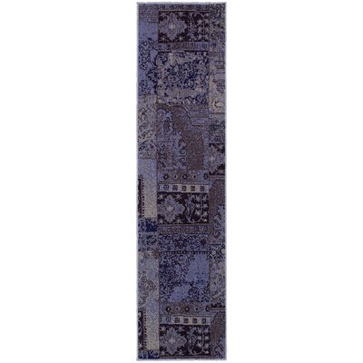 Raiden Multi-Colored Patchwork Area Rug Rug Size: Runner 110 x 76
