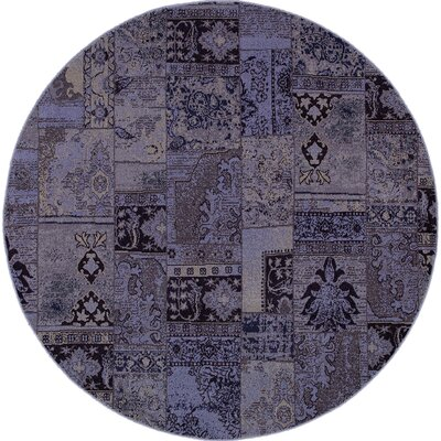 Raiden Multi-Colored Patchwork Area Rug Rug Size: Round 78