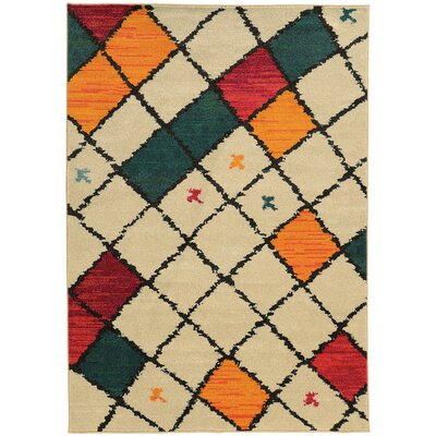 Marquis Ivory Area Rug Rug Size: Runner 27 x 10