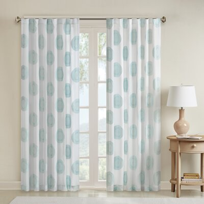 Azura Solid 3M Scotchgard Outdoor Single Curtain Panel