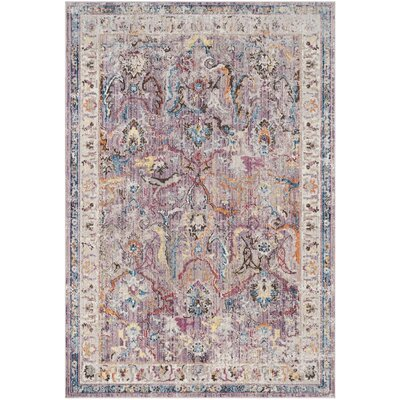 Sarina Lavender/Light Grey Area Rug