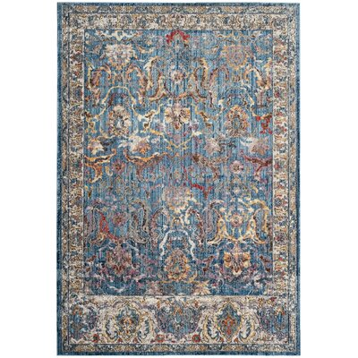 Sarina Blue/Light Grey Area Rug